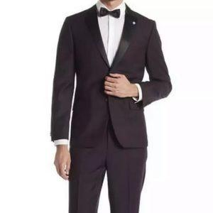 Ben Sherman Suit Jacket 42 R Pants 36 Waist